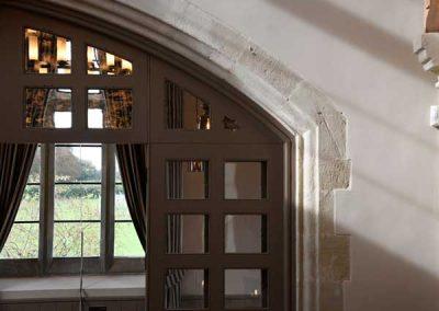 Clockspire Window Detail